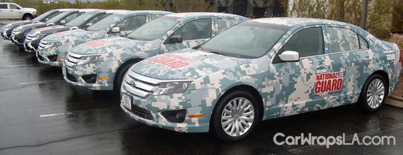 National Guard Fleet Wrap