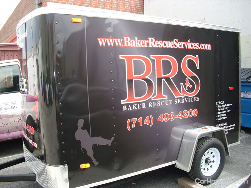 Rescue Service Trailer Wrap