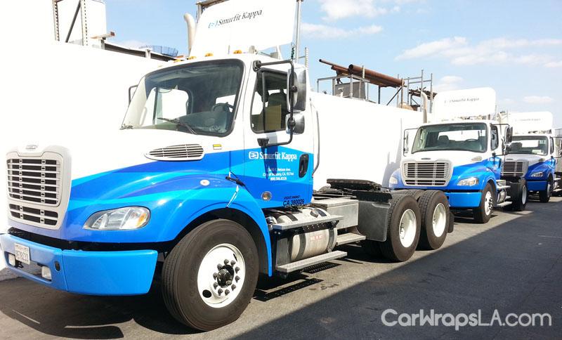 Truck Smurfit Kappa Fleet Wrap